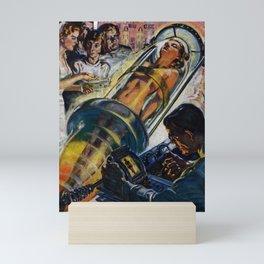 Vintage Sci-Fi (Science Fiction) Illustration Mini Art Print