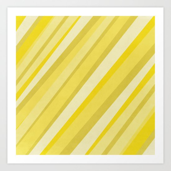 Diagonal : Pattern Art Print