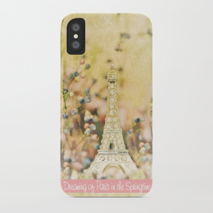 Dreaming of Paris in the Springtime... iPhone Case