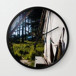 Outdoor Tent Wall Clock