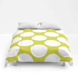 Polka Dots Green Comforters