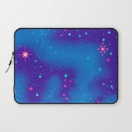 Indigo Nebula (8bit) Laptop Sleeve