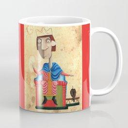 Ritratto di Federico II - L'Epoca di Federico II Coffee Mug