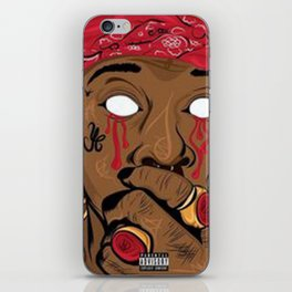 PRINT ILLUSTRATION YOUNG THUG iPhone Skin