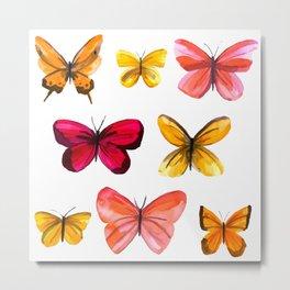 Butterflies no 3 Metal Print