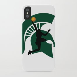 Michigan Basketball iPhone Case