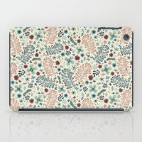 flora iPad Cases featuring Flora by Anna Deegan
