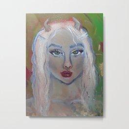 Faun girl Metal Print