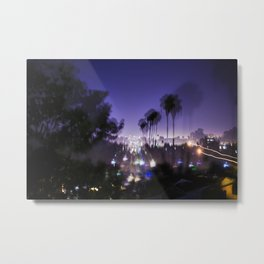 Chasing Light in Los Angeles Metal Print