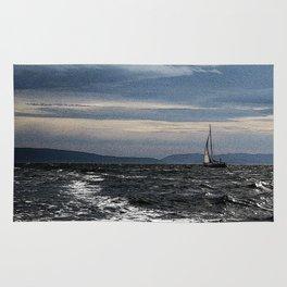 Sailing on the Oslofjord Rug