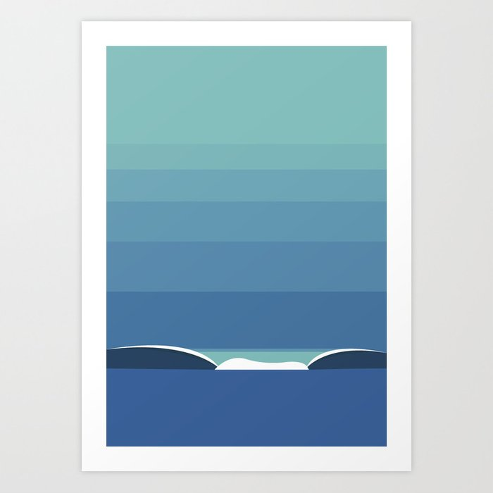 WAVES, Estudio 02 Art Print