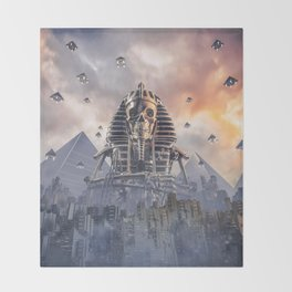 Gods of New Egypt Throw Blanket