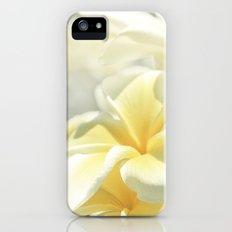 Na Lei Pua Melia Aloha e ko Lele iPhone (5, 5s) Slim Case