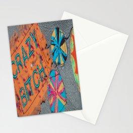 Crazy Bitch Stationery Cards