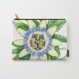 Luscious Passion Flower Carry-All Pouch