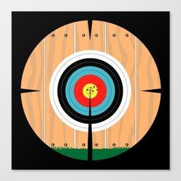 On Target Canvas Print