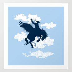 Sky Rodeo Art Print