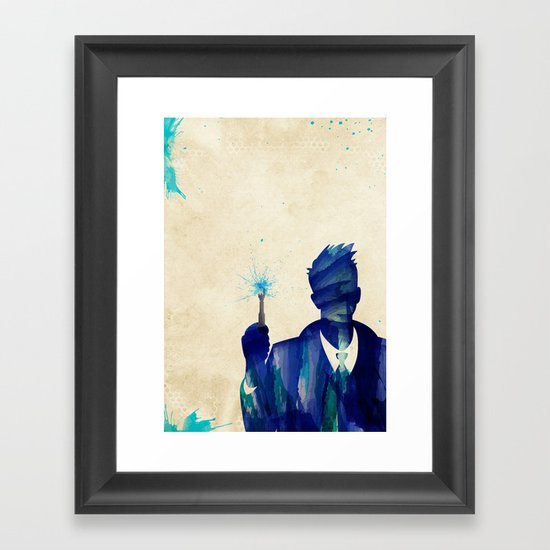 Doctor Who 10th Doctor David Tennant Framed Art Print