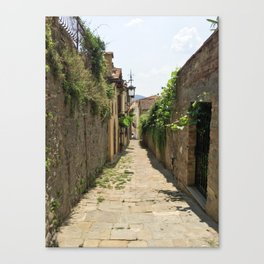 Arezzo Alley Canvas Print