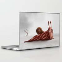 snail Laptop & iPad Skins featuring Snail by Alexander Skachkov