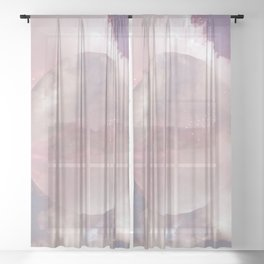 Another Galaxy Sheer Curtain