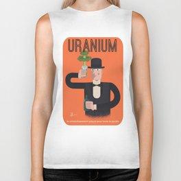 Uranium, delicious uranium Biker Tank