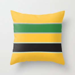 Motorsports Livery Throw Pillow