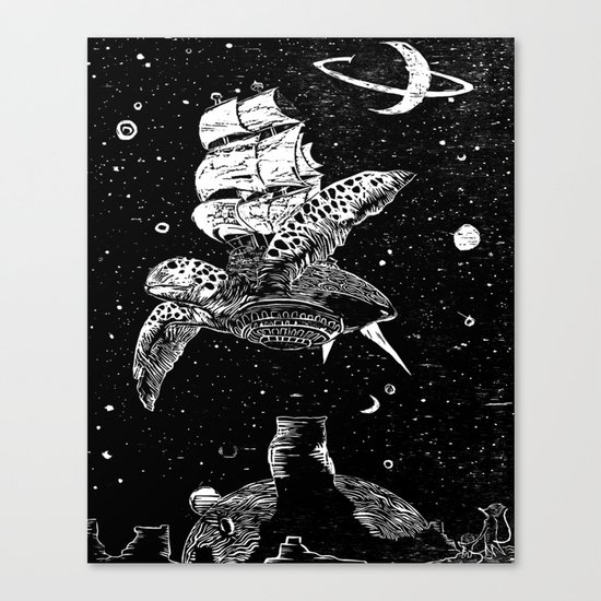 Sobaloopsian Father & Son Canvas Print