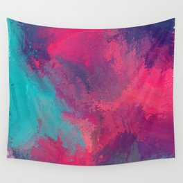 """""""And STILL I Persevere Through The Storms"""" Abstract Design Wall Tapestry"""