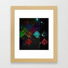 Painters Argyle Framed Art Print
