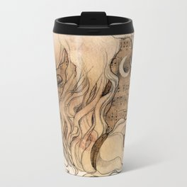 sounds of silence Travel Mug