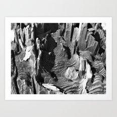 A termites landscape Art Print