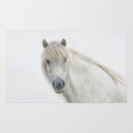 Horse eyes look at you Rug