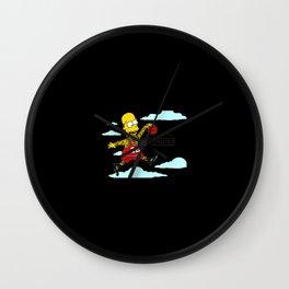 Simpson No Jumper Wall Clock