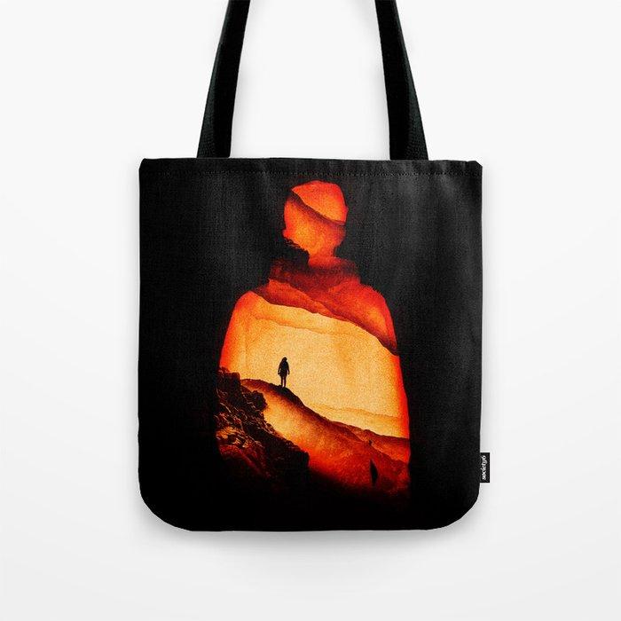 Love Aloneness Tote Bag