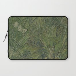 Garden with Butterflies Laptop Sleeve