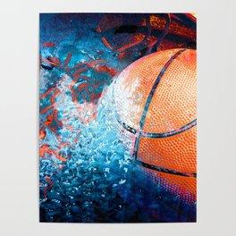Unique Basketball Art Poster