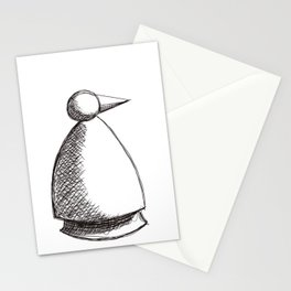 Metaphysical Penguin Solo Stationery Cards