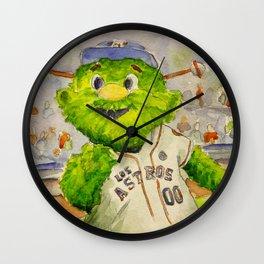 Orbit - Astros mascot Wall Clock