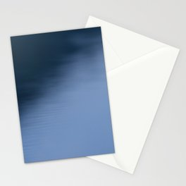 The Soft Blue Hour Before Dawn at the Lake Stationery Cards