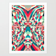 Piece by Peace Art Print