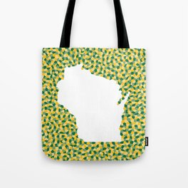 Wisco: Green Bay Colors Tote Bag