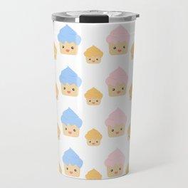 Cupcake family pattern Travel Mug