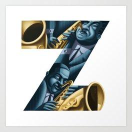 jazz! - z2 Art Print
