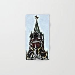 Kremlin Chimes-dramatic Hand & Bath Towel