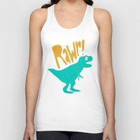 dino Tank Tops featuring Dino by Chelsea Herrick