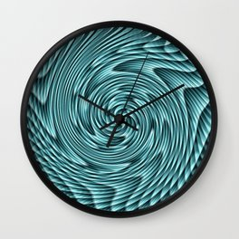 Swirvling pattern Wall Clock