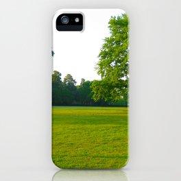 In Deep Silence iPhone Case