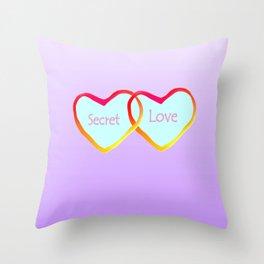 Secret Love Throw Pillow
