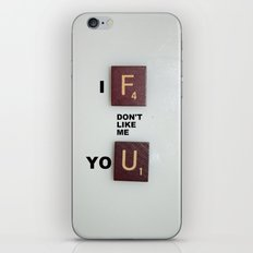 No, Seriously iPhone & iPod Skin